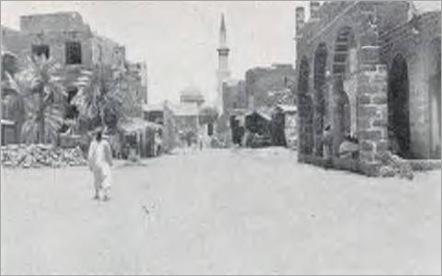 شارع مؤدي للمسجد