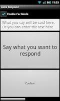 Screenshot of Auto Response Paid