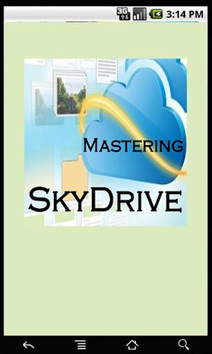 Mastering SkyDrive