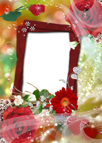 Frame for Photo - Scent of Roses