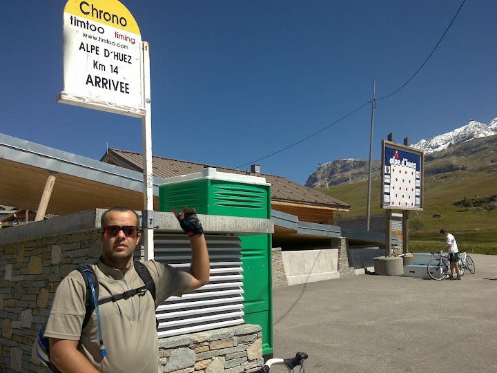 Subida al Alpe D'Huez