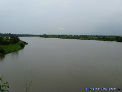 Ulhas River View From Gandhare Bridge