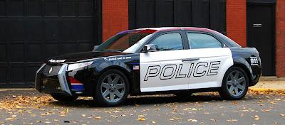 Future Police Car