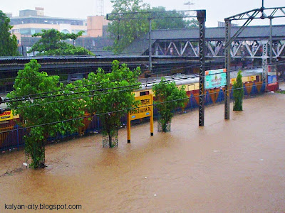 Kalyan Station During Floods