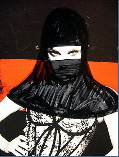 Princess Hijab, l'artista che mette il velo alle pubblicità8