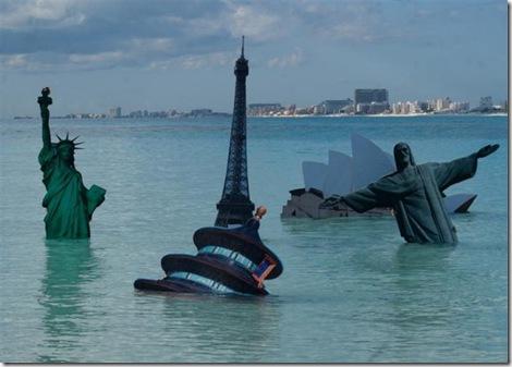 Greenpeace, le più belle immagini di un7 anno in azione