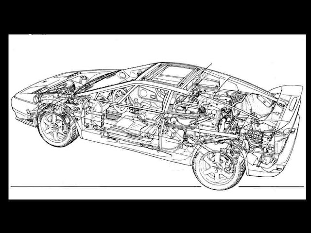 Lotus Esprit S4 Workshop Turbo  U0026 Parts Manuals 1915pg  For