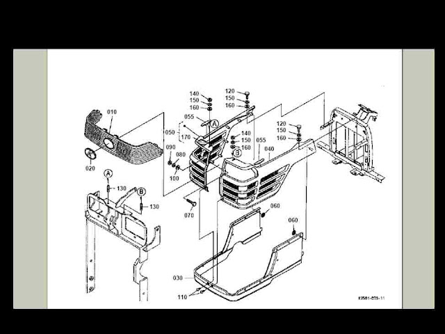 KubB2200pdf3 kubota bx 2200 bx2200 tractor diagram parts manual for sale kubota l4310 wiring diagram at gsmx.co