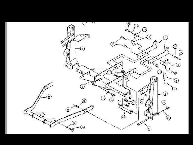 kubota b1630 b1640 a b1635 tractor loader parts manual for
