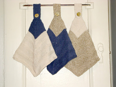 Mitered Hanging Towels