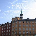 Стокгольм, на этой мансарде наверху жил Карлсон
