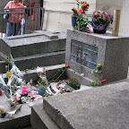 Кладбище Пер-Лашез, могила Джима Моррисона
