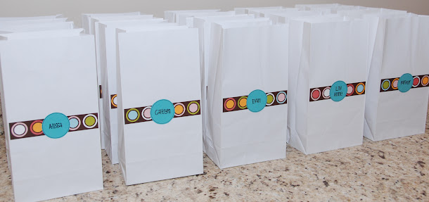 mad science goodie bags