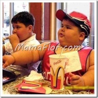 Como evitar que nuestros nenes no engorden en las vacaciones