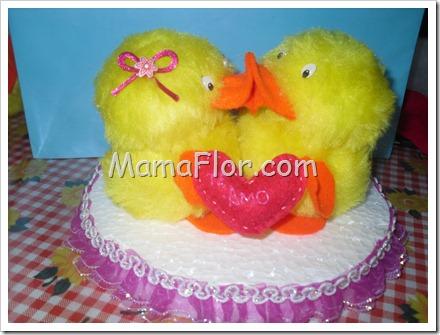 ¡Regalo para San Valentín: Pareja de Pollitos enamorados!