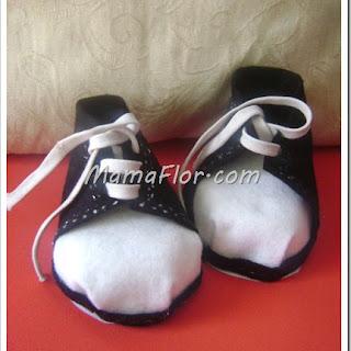 BABY SHOWER: Sorpresas en forma de Zapatillas, paso a paso