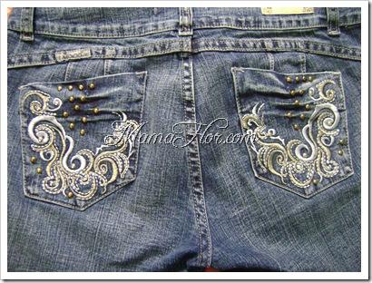 Como decorar los bolsillos de un pantalon