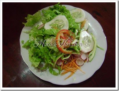 Como hacer una ensalada dietetica