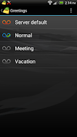 Screenshot of Cellcom Visual Voicemail