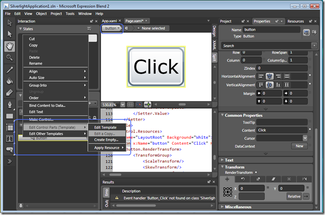 Wpf my blog for Wpf menu template