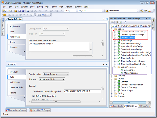 Silverlight.Controls.sln in Visual Studio