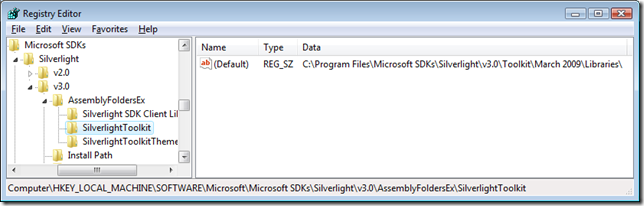 Visual Studio Registration