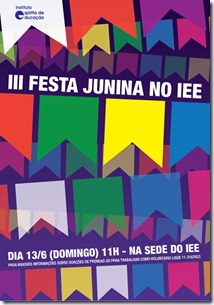 Cartaz Festa Junina 2010