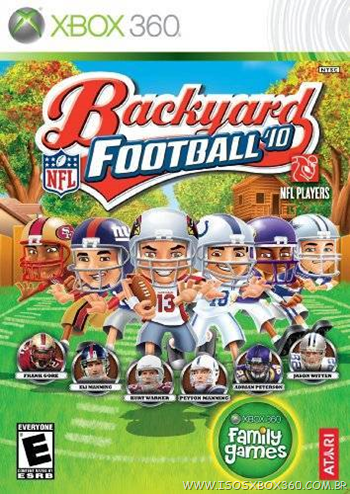 Backyard Football '10 - NTSC/U - XBOX 360