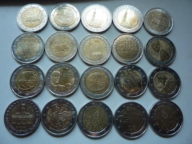 Pièces commémoratives de 2 euros