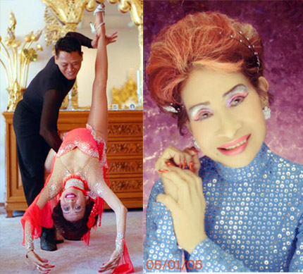 71 tahun - Ballerina Tertua