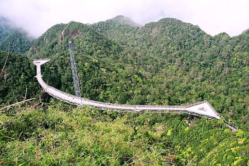 panoramic view of gunung mat cincang