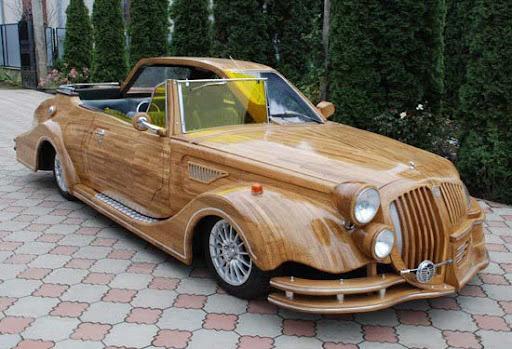 ada-kamu.blogspot.com - Inilah Mobil Mobil Keren Yang Terbuat Dari Kayu [FULL Photo]