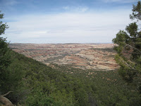 Salt Creek Canyon from upper trailhead Photo