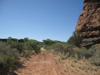 Salt Creek Trailhead jeep road Photo