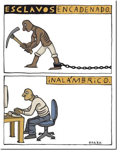 Esclavos en Internet
