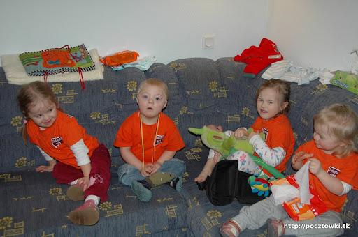 Zakątkowe dzieciaki: Kinga, Marcinek, Majowa i Ada