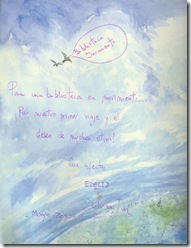 """MIRANDA DA LA VUELTA AL MUNDO"" de James Mayhew."