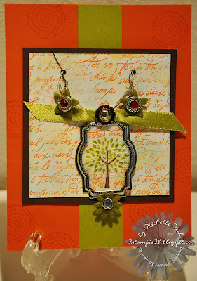 Trendy Trees Necklace & Earrings Gift Set