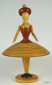 Werkskizze zu Figur 2a - Tänzerin