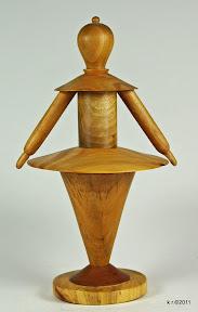 Figur 3a - Weißer Tänzer