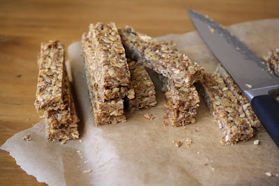 Baking For Others: Peanut Butter Granola Bars - Big Girls ...