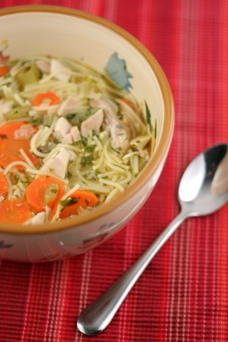 chicken noodle soup 1