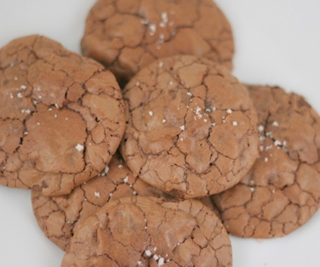 salted chocolate cookies 2
