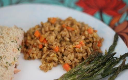farrow risotto