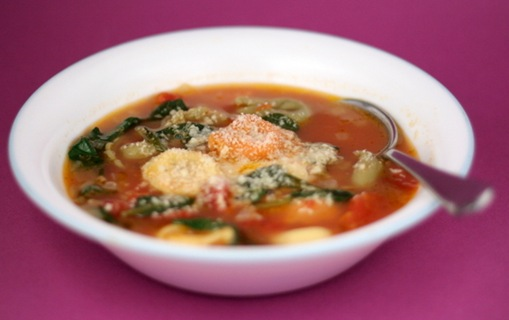spinach tortellini soup 1