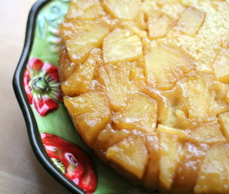 pineapple upside down cake 2