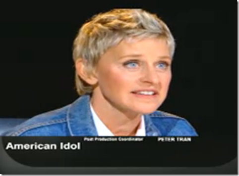 Ellen Degeneres American Idol Hollywood Week