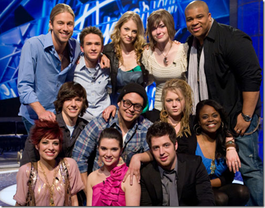 American Idol 2010 Results March 17 Top 12