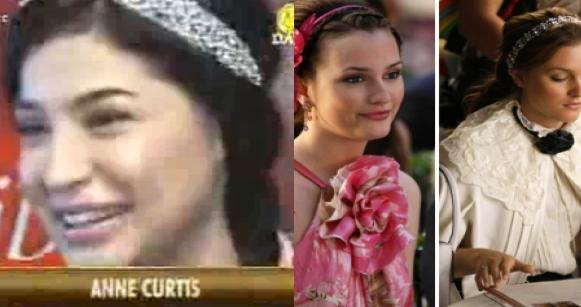 anne curtis, blair waldorf, jennifer Behr