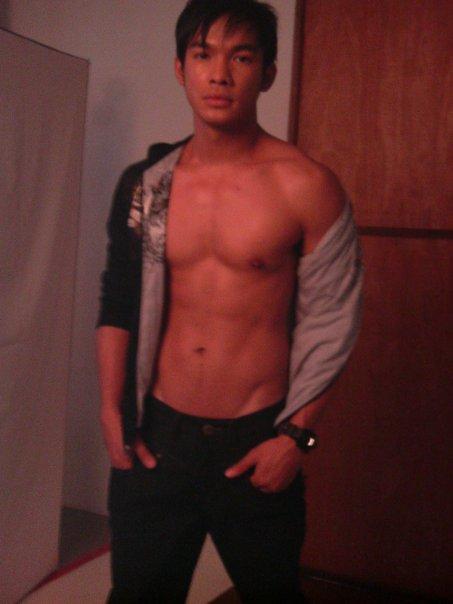 Mark Bautista shirtless